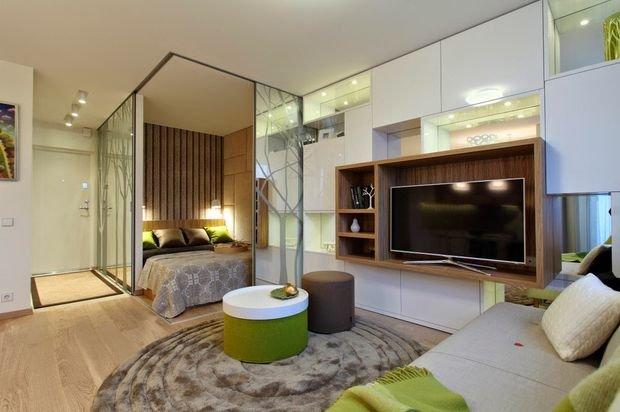 Фотография: Ванная в стиле Скандинавский, Декор интерьера, Малогабаритная квартира, Квартира, Студия, Планировки, Мебель и свет – фото на INMYROOM