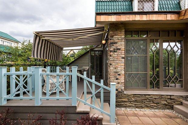 Фотография: Балкон, Терраса в стиле Прованс и Кантри, Современный, Декор интерьера, Дачный ответ, Веранда – фото на INMYROOM