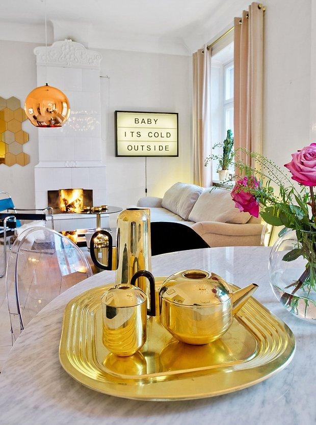 Фотография: Декор в стиле Эклектика, Декор интерьера, Дизайн интерьера, Цвет в интерьере, Советы, Белый – фото на INMYROOM