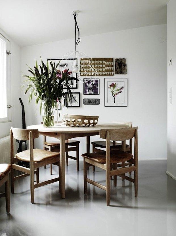 Фотография: Кухня и столовая в стиле Современный, Интерьер комнат, Обеденная зона – фото на INMYROOM
