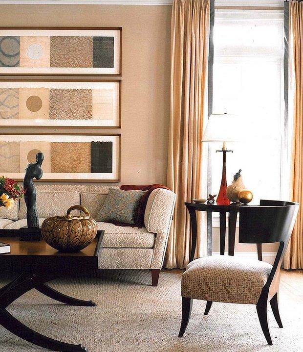 Фотография: Гостиная в стиле Восточный, Декор интерьера, Декор дома, Картины, Постеры – фото на INMYROOM