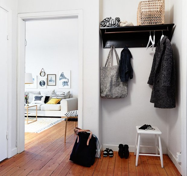 Фотография: Прихожая в стиле Скандинавский, Декор интерьера, Квартира – фото на INMYROOM