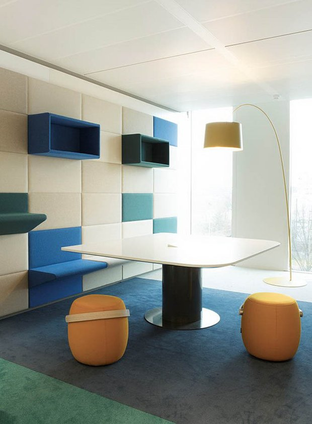 Фотография: Мебель и свет в стиле Хай-тек, Офисное пространство, Офис, Дома и квартиры, Проект недели – фото на INMYROOM