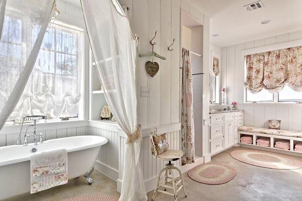 Фотография: Ванная в стиле Прованс и Кантри, Декор интерьера, Квартира, Дом, Декор – фото на InMyRoom.ru
