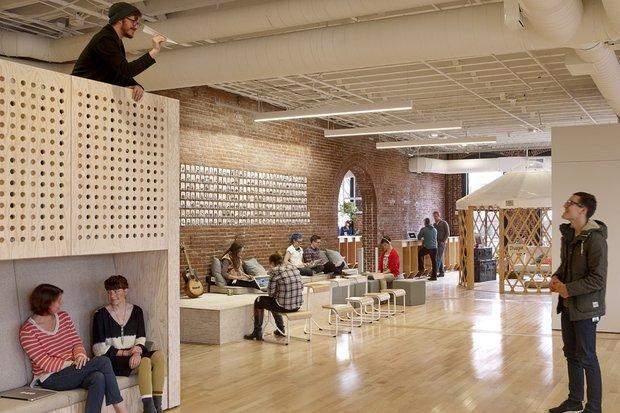 Фотография: Ванная в стиле Лофт, Декор интерьера, Офисное пространство, Офис – фото на INMYROOM