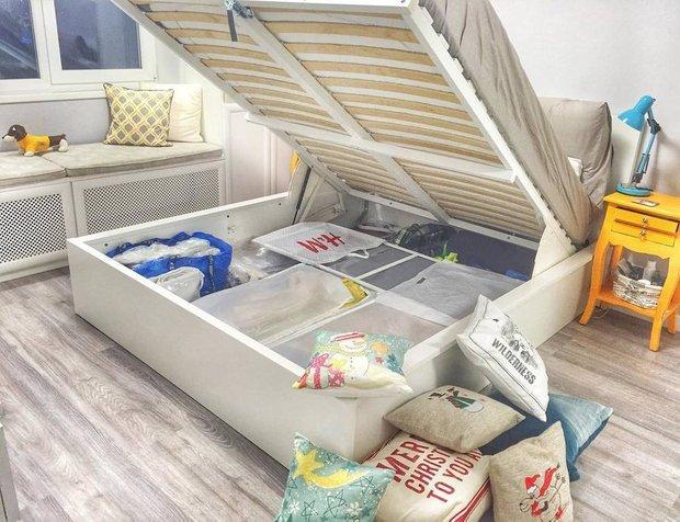 Кровать купили в ИКЕА