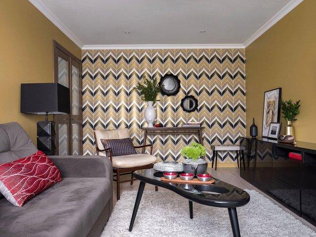 Фотография: Гостиная в стиле Современный, Гид – фото на INMYROOM