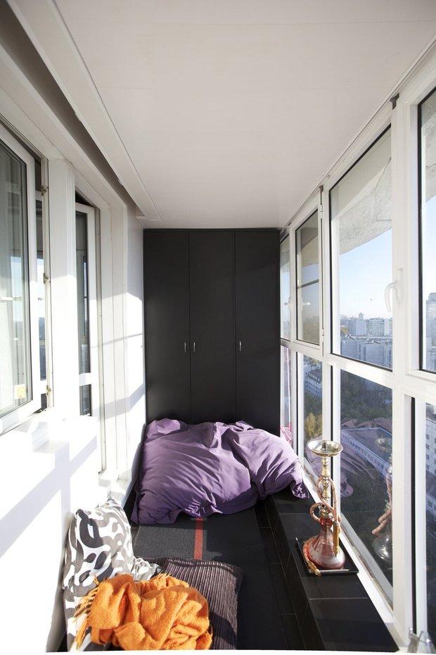 Фотография: Балкон в стиле Современный, Восточный, Квартира, Советы, Ремонт на практике, как сделать косметический ремонт балкона, ремонт балкона – фото на INMYROOM