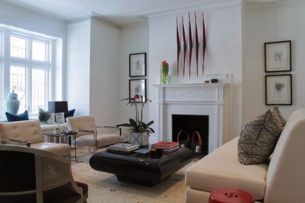 Фотография: Гостиная в стиле Скандинавский, Дом, Дома и квартиры, Перепланировка, Переделка – фото на INMYROOM