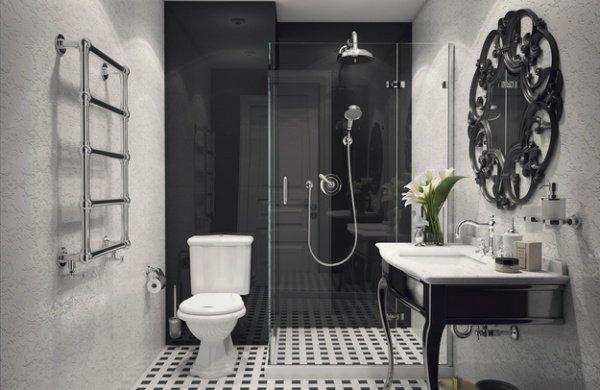 Фотография: Ванная в стиле Классический, Перепланировка, Максим Джураев – фото на INMYROOM