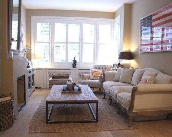 Фотография: Гостиная в стиле Современный, Декор интерьера, Малогабаритная квартира, Квартира, Цвет в интерьере, Дома и квартиры, Советы, Окна – фото на INMYROOM