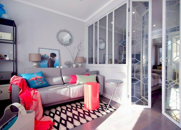 Фотография:  в стиле , Малогабаритная квартира, Квартира, Планировки, Гид, 1 комната, до 40 метров – фото на INMYROOM