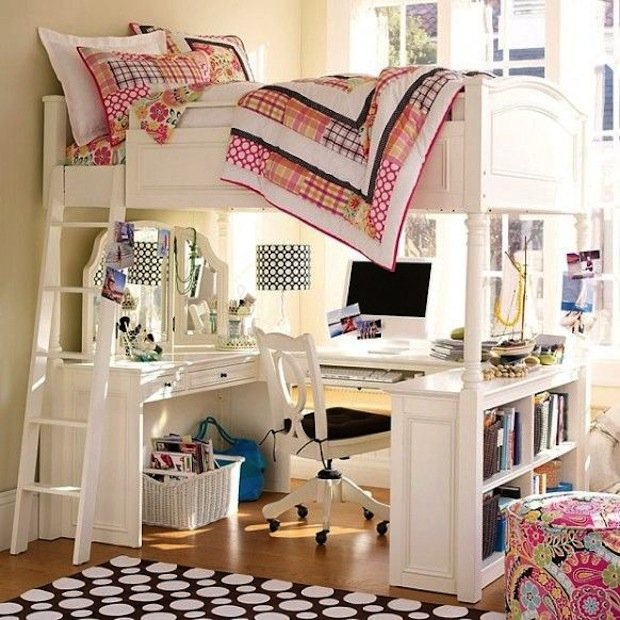 Фотография: Детская в стиле Прованс и Кантри, Малогабаритная квартира, Квартира, Дома и квартиры – фото на INMYROOM