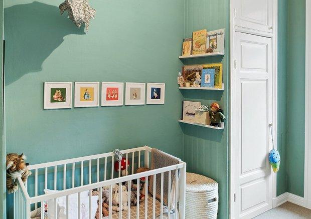 Фотография: Детская в стиле Скандинавский, Малогабаритная квартира, Квартира, Швеция, Дома и квартиры – фото на INMYROOM