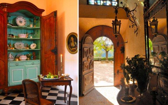 Фотография:  в стиле , Классический, Декор интерьера, Дом, Декор дома, Камин, Ширма – фото на INMYROOM