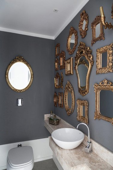 Фотография: Ванная в стиле Прованс и Кантри, Эклектика, Декор интерьера, Квартира, Дома и квартиры – фото на INMYROOM