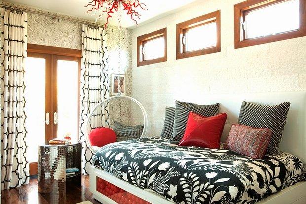 Фотография: Спальня в стиле Современный, Декор интерьера, Квартира, Дом, Мебель и свет – фото на INMYROOM