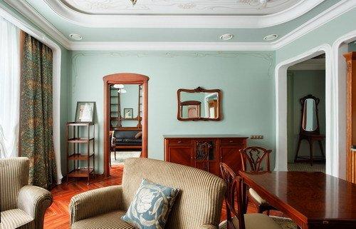 Фотография: Гостиная в стиле Прованс и Кантри, Дизайн интерьера – фото на INMYROOM