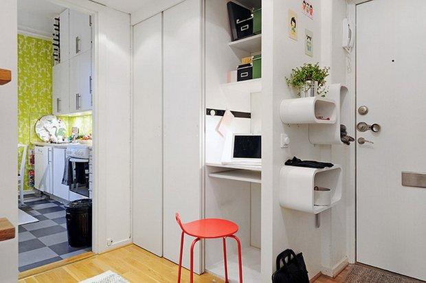 Фотография: Прихожая в стиле Современный, Аксессуары, Декор, Мебель и свет, Советы, Белый, белая комната, идеи для белой прихожей – фото на INMYROOM