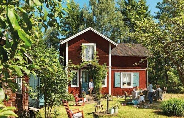 Фотография: Прочее в стиле , Прованс и Кантри, Скандинавский, Дом, Дома и квартиры, IKEA, Дача – фото на INMYROOM