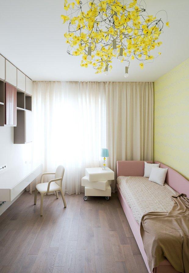 Фотография: Спальня в стиле Современный, Классический, Квартира, Проект недели, Москва, Бежевый – фото на INMYROOM