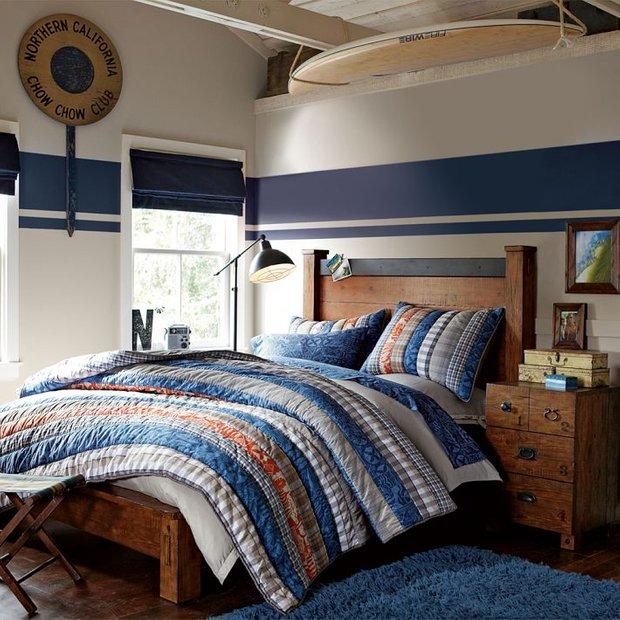 Фотография: Спальня в стиле Лофт, Детская, Интерьер комнат – фото на InMyRoom.ru