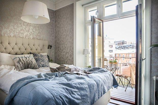 Фотография: Спальня в стиле Скандинавский, Декор интерьера, Квартира, Швеция, 3 комнаты – фото на INMYROOM