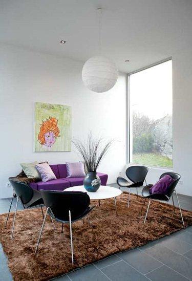 Фотография: Гостиная в стиле Минимализм, Декор интерьера, Декор дома, Плитка – фото на INMYROOM