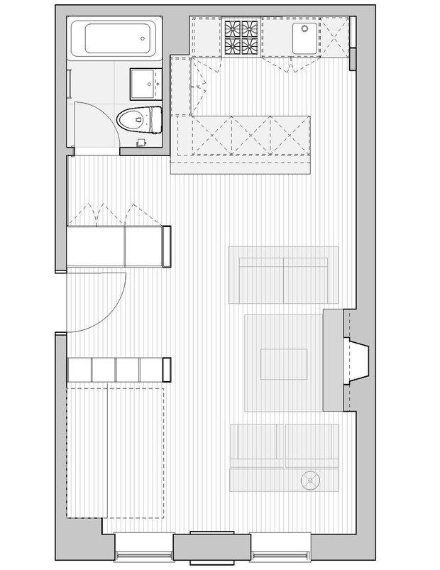 Фотография: Планировки в стиле , Квартира, Дома и квартиры, IKEA, Стена – фото на INMYROOM
