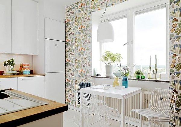 Фотография: Кухня и столовая в стиле Современный, Квартира, Мебель и свет, Переделка, Ремонт на практике – фото на InMyRoom.ru