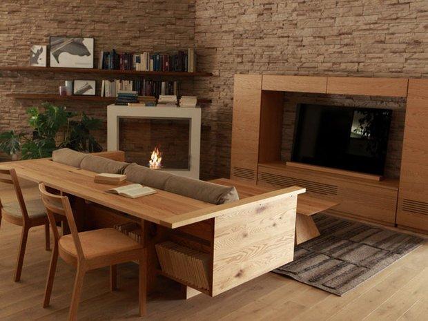 Фотография: Прочее в стиле , Малогабаритная квартира, Квартира, Дома и квартиры, Советы, Мебель-трансформер – фото на INMYROOM