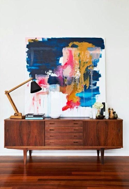 Фотография: Мебель и свет в стиле Современный, Эко, Декор интерьера, Декор, абстрактная живописть в интерьере, абстрактное искусство в интерьере – фото на InMyRoom.ru