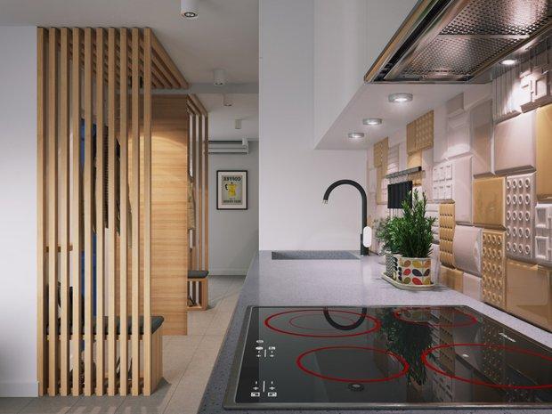 Фотография:  в стиле , Прихожая, Советы, Павел Герасимов, Geometrium, дизайн узкого коридора – фото на INMYROOM