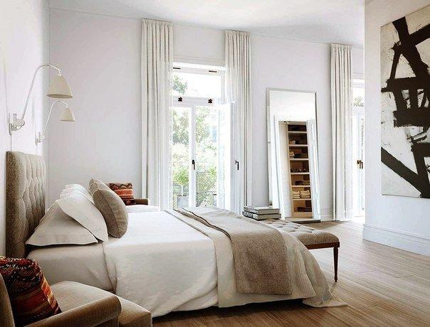 Фотография: Спальня в стиле Скандинавский, Интерьер комнат, Декор – фото на InMyRoom.ru