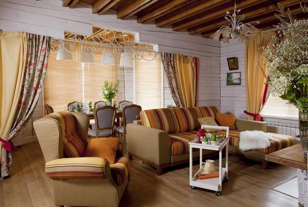 Фотография: Гостиная в стиле Прованс и Кантри, Кухня и столовая, Советы – фото на INMYROOM
