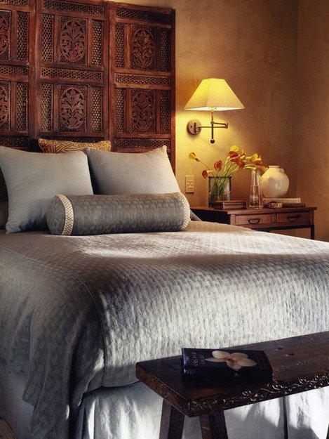 Фотография: Спальня в стиле Прованс и Кантри, Декор интерьера, Интерьер комнат, Кровать – фото на INMYROOM