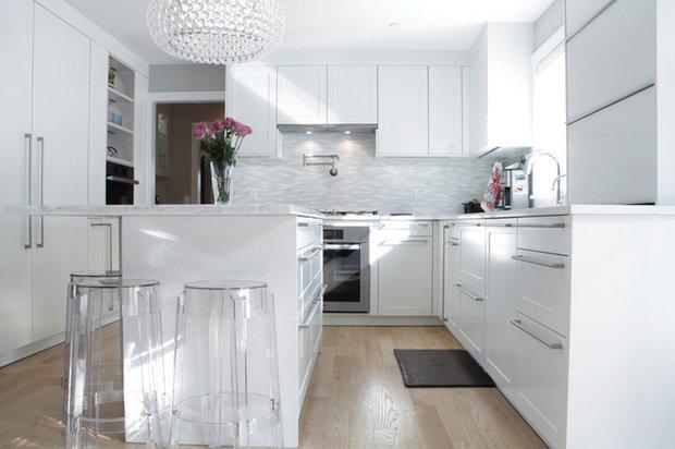 Фотография: Кухня и столовая в стиле Современный, Дом, Дома и квартиры, Переделка – фото на INMYROOM