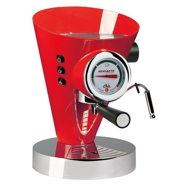 Фотография:  в стиле , Обзоры, Обзор гаджетов, La Sorrentina Atomic, Bugatti, Elektra, La Pavoni, Illy Caffe Touch Espresso Brewer, DeLonghi  – фото на INMYROOM