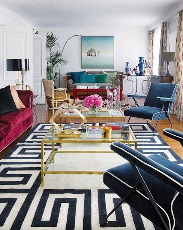 Фотография: Гостиная в стиле Эклектика, Малогабаритная квартира, Квартира, Дома и квартиры – фото на INMYROOM