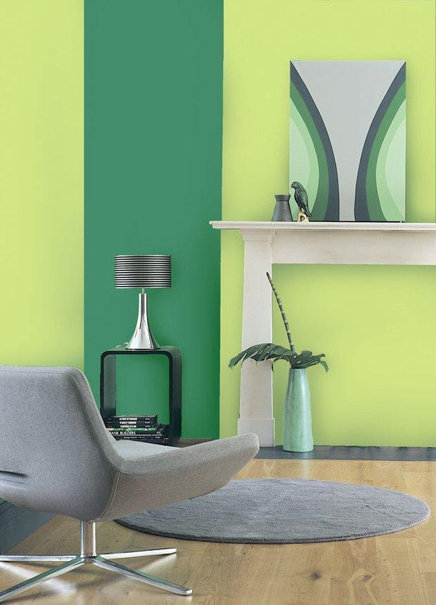 Фотография: Гостиная в стиле Современный, Декор интерьера, Дизайн интерьера, Цвет в интерьере, Dulux – фото на INMYROOM