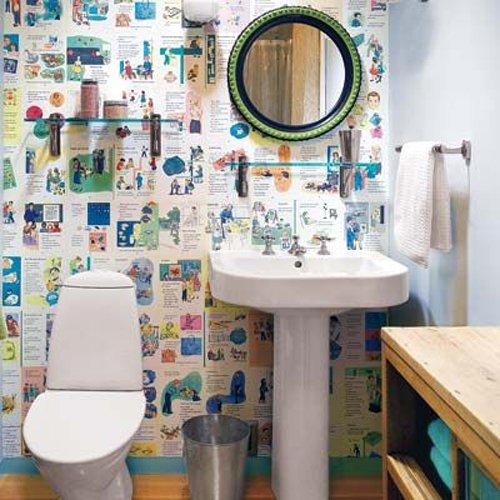 Фотография: Ванная в стиле Лофт, Современный, Декор интерьера, DIY, Стиль жизни, Советы – фото на InMyRoom.ru