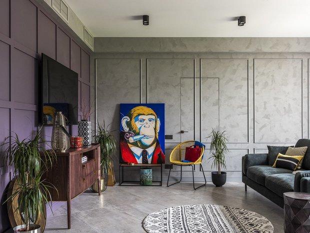 Фотография: Гостиная в стиле Эклектика, Декор интерьера, Квартира, Гид – фото на INMYROOM