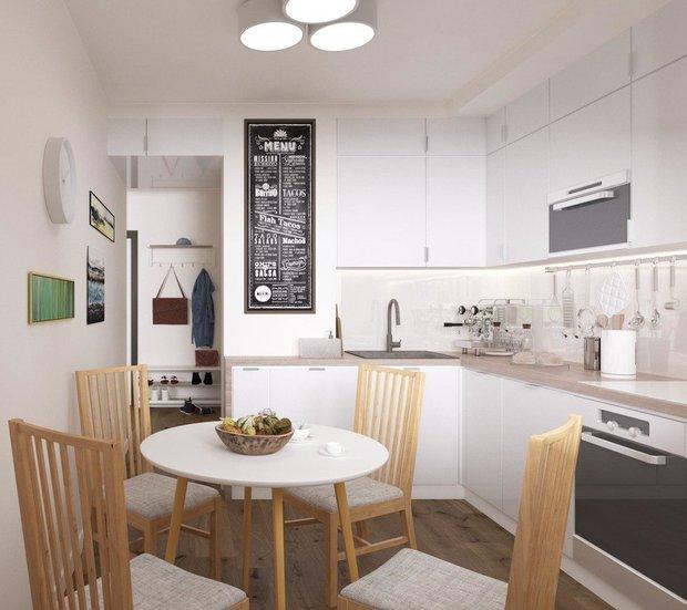 Дизайн-проект бюро «Общая площадь»