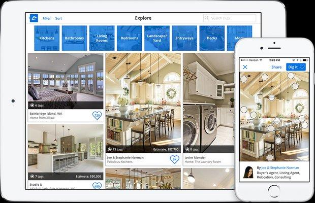 Фотография:  в стиле , Советы, Гид, мобильные приложения для дизайна интерьера, Точка банк, приложения для дизайна, мобильные приложения – фото на INMYROOM
