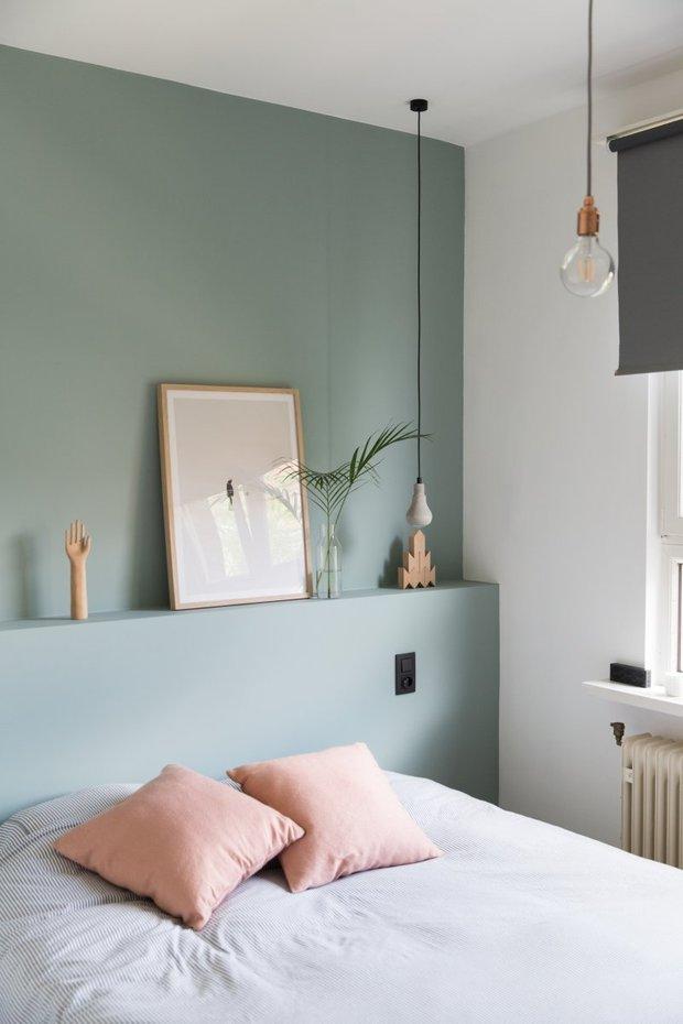 Фотография: Спальня в стиле Современный, Минимализм, Малогабаритная квартира, Советы, Виктория Пашинская – фото на INMYROOM