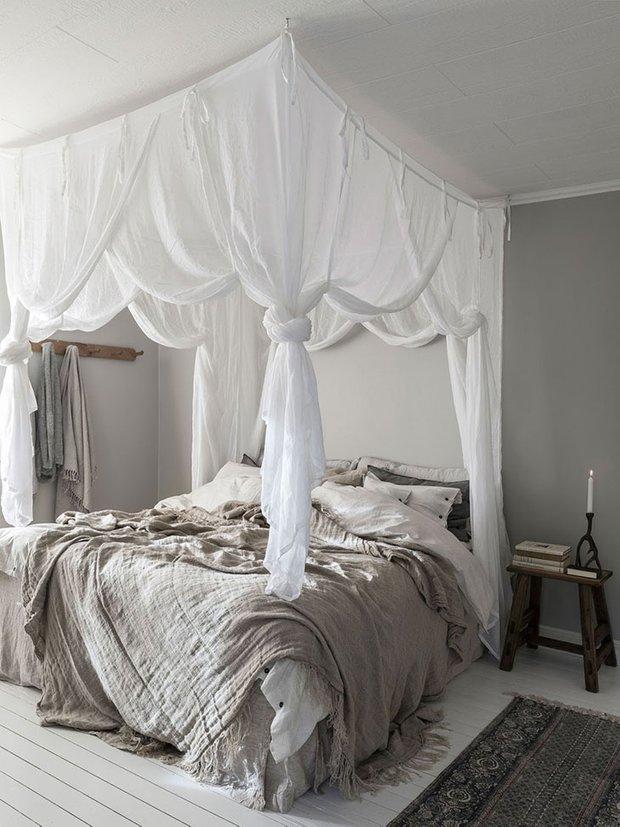 Фотография: Спальня в стиле Прованс и Кантри, Скандинавский, Декор интерьера, Дом, Швеция, Эко – фото на INMYROOM