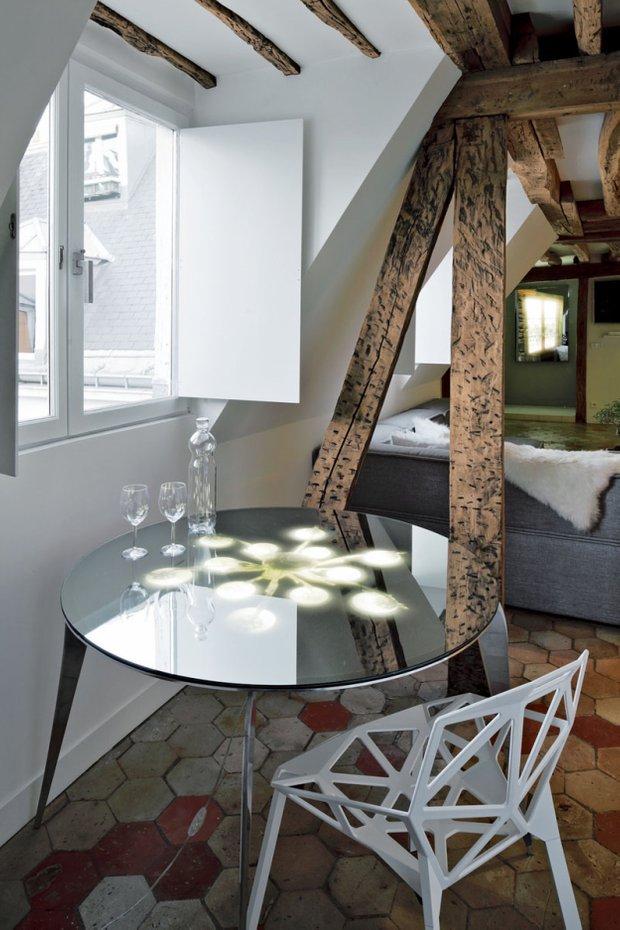 Фотография: Мебель и свет в стиле Лофт, Квартира, Дома и квартиры – фото на INMYROOM