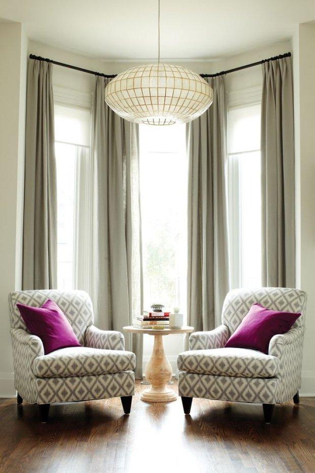 Фотография: Гостиная в стиле Прованс и Кантри, Малогабаритная квартира, Интерьер комнат – фото на INMYROOM