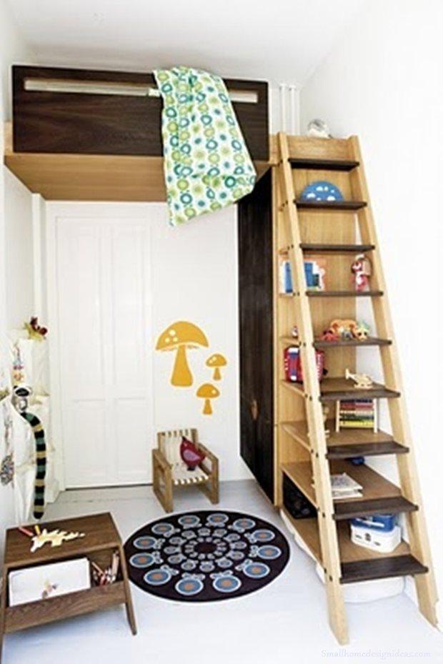 Фотография: Детская в стиле Скандинавский, Малогабаритная квартира, Квартира, Декор, Советы – фото на INMYROOM