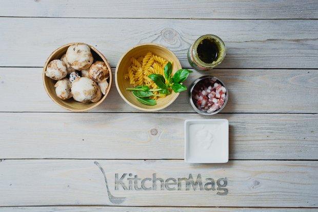 Фотография:  в стиле , Обед, Ужин, Основное блюдо, Жарить, Паста, Итальянская кухня, Кулинарные рецепты, Варить, 15 минут, Готовит KitchenMag, Вкусные рецепты, Простые рецепты, Рецепты на 2015 год, Домашние рецепты, Пошаговые рецепты, Новые рецепты, Рецепты вторых блюд, Рецепты с фото, Как приготовить быстро?, Как приготовить вкусно?, Просто – фото на INMYROOM